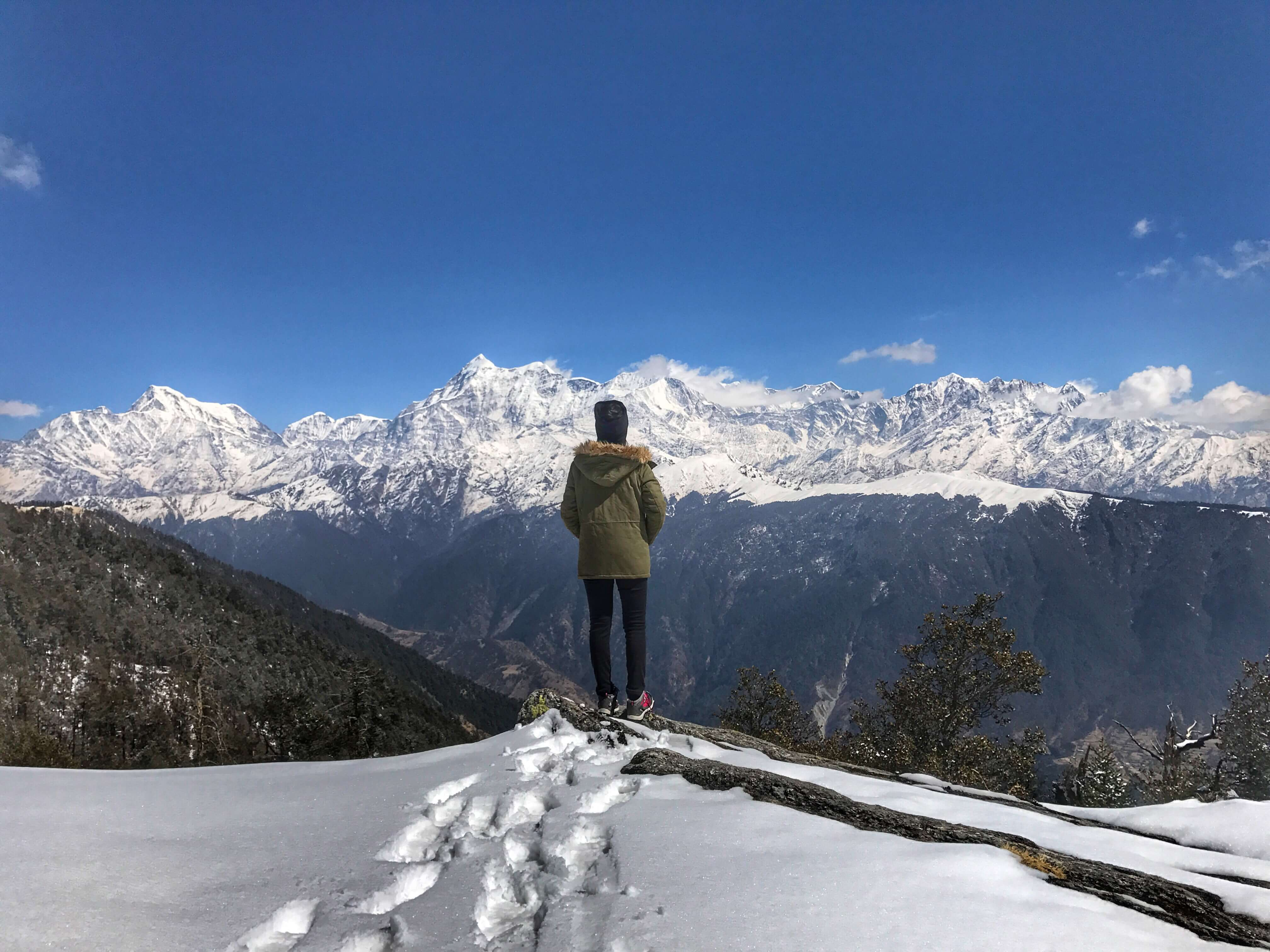 Brahmatal Winter Trek: A photo story from an amateur trekker