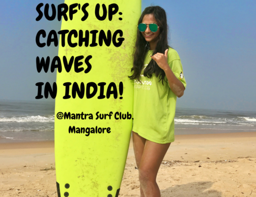 Surf's up catching waves in India