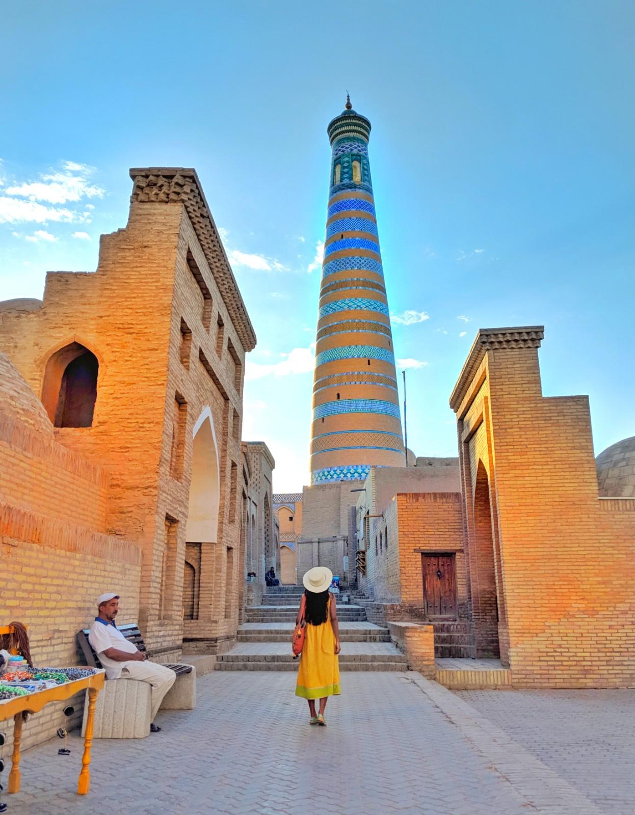 Risultati immagini per khiva uzbekistan